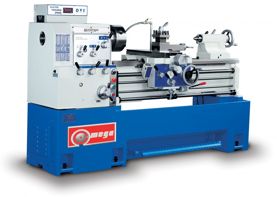 Omega Gap Bed Lathe Inverter Model V1780